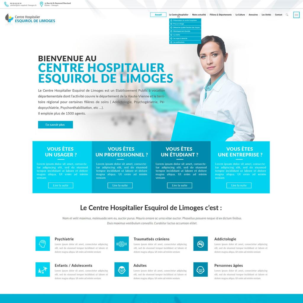 Centre hospitalier - Esquirol