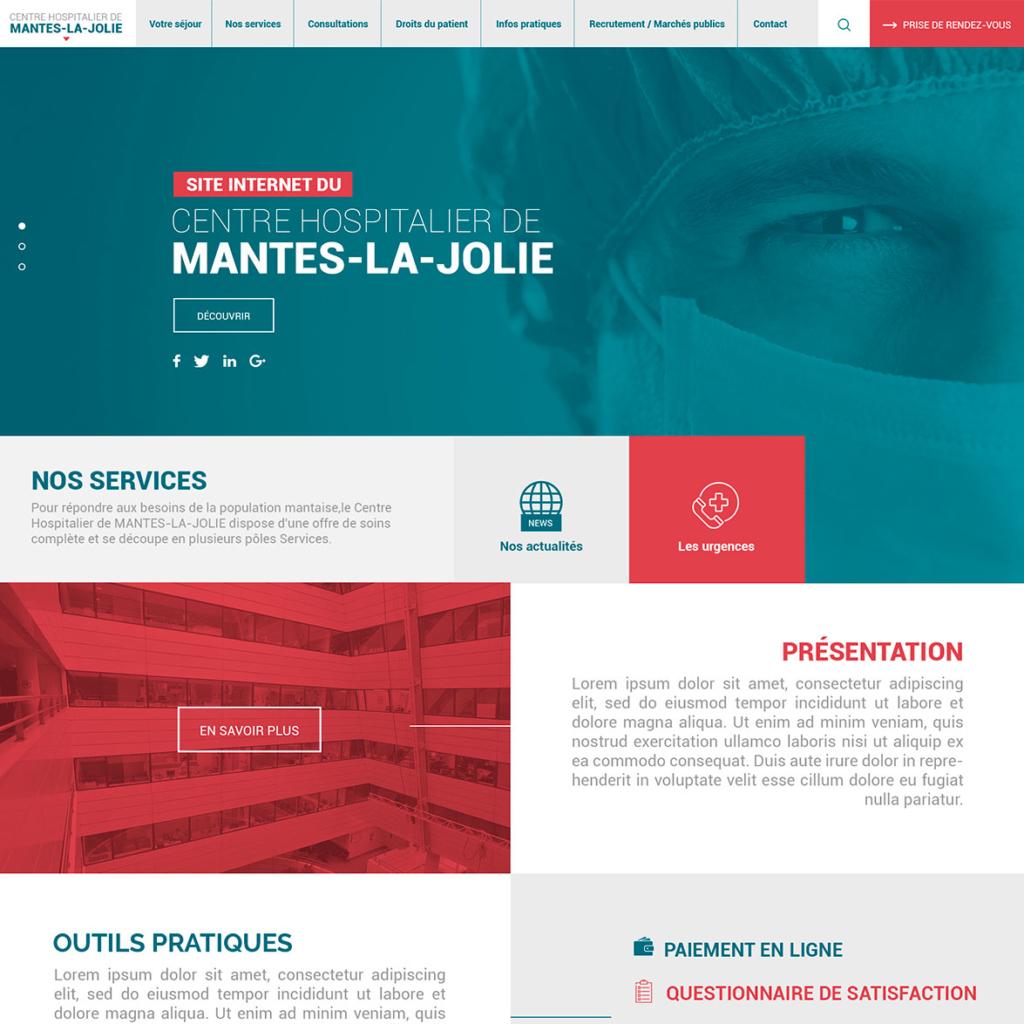 Centre hospitalier - Mantes/Poissy