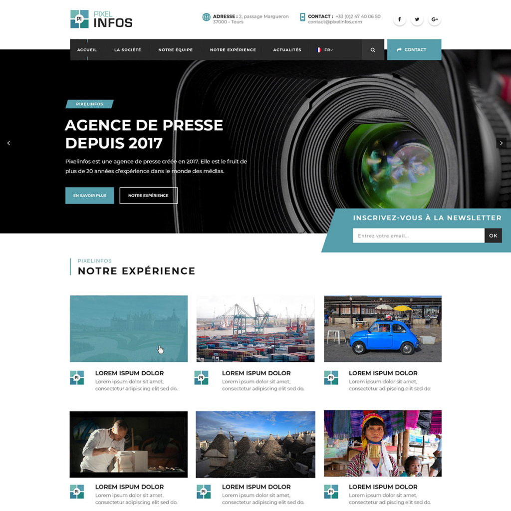 Pixel Infos - agence de presse