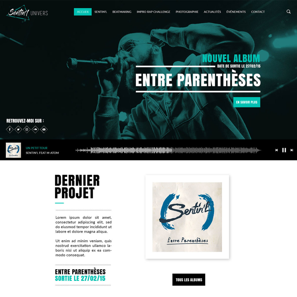 Sentin'l - Site Officiel