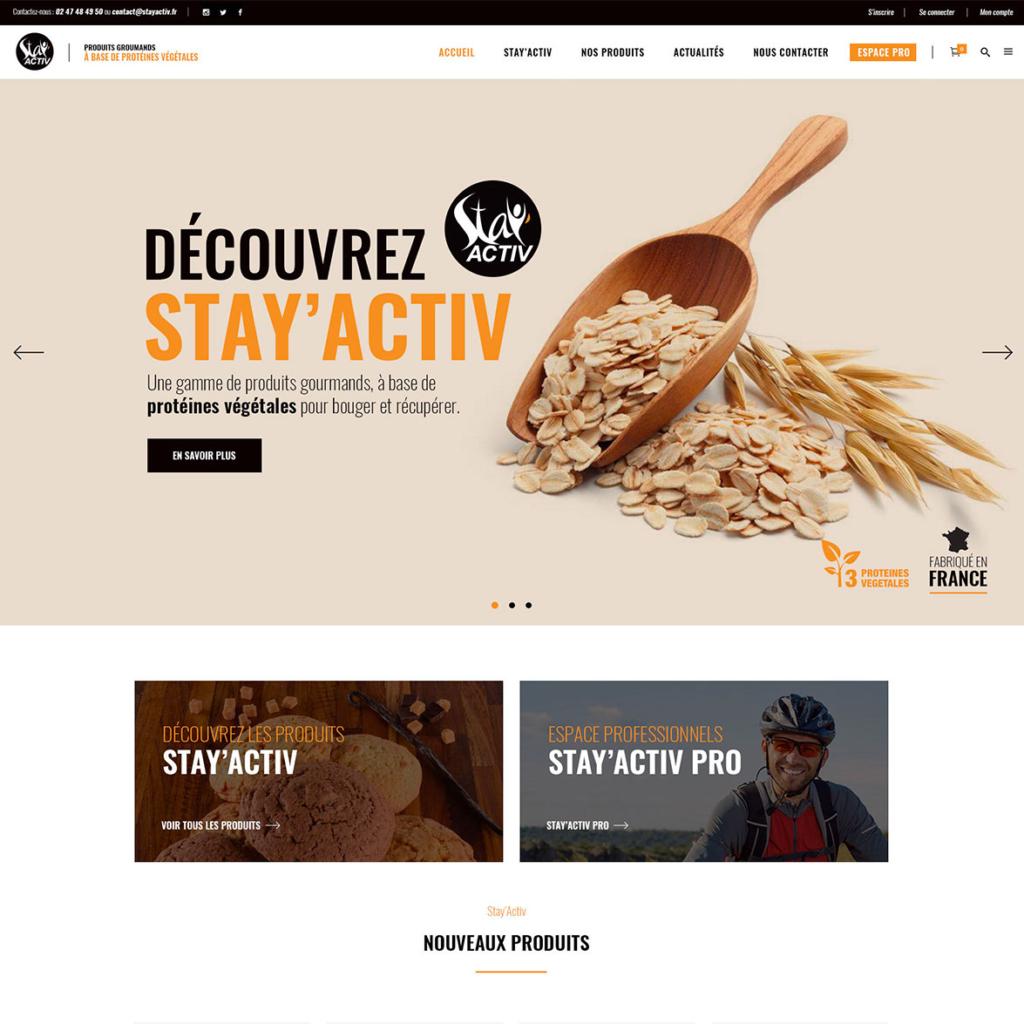 Stay'Activ - produits à base de protéines végétales
